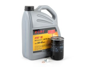 ES#2771521 - M20IN1PENKT - Rowe Oil Change Kit / Inspection I  - Everything you'll need to do a complete oil change including Rowe HighTec Synt RS 5w-40 synthetic motor oil - Assembled By ECS - BMW