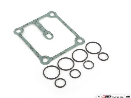 ES#2952073 - 11367830828KT2 - VANOS Solenoid Gasket Kit - All the gaskets you need to install one solenoid pack. - Assembled By ECS - BMW