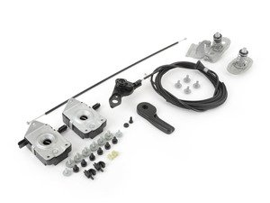 ES#2587545 - 51231977391COUKT - Hood Release Kit - Everything you need to service your hood release system including hardware - Genuine BMW - BMW