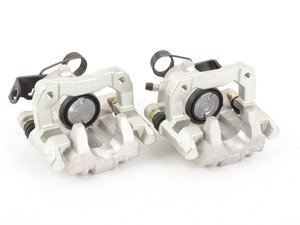 ES#3492692 -  1j0615423dsjKT - Rear Brake Calipers - Pair - Includes caliper carriers - Bremmen Parts - Audi Volkswagen