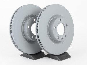 ES#2951457 - 95835140301KT1 - Front Brake Rotors - Pair (360x36) - Front axle fitment - Both left and right - Zimmermann - Volkswagen Porsche