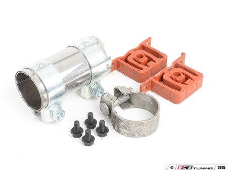 ES#2952356 - 1J0253209NKT - Center Muffler Installation Kit - Everything needed to install your center muffler - Assembled By ECS - Volkswagen