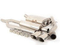 ES#2827806 - SSXM017 - Cat-Back Exhaust System - Resonated Twin Oval Jet - 2.50