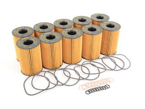 ES#1892703 - 11427583220 - Oil Filter - Pack Of 10 - Stock Up And SAVE! - With O-ring seal - Genuine BMW - BMW