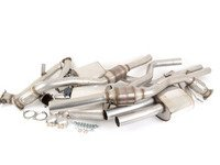 """ES#2827495 - SSXAU378 - Turbo-Back Exhaust System - Valvesonic Resonated - (NO LONGER AVAILABLE) - 2.75"""" stainless steel, Hi-Flow sports cats, and retains stock exhaust tips - Milltek Sport -"""