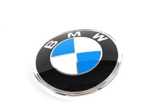 ES#78973 - 51141872328 - Trunklid Emblem - Replace your chipped & faded BMW roundel - Genuine BMW - BMW