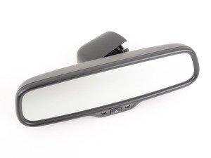 ES#460535 - 8R0857511A4PK - Rear View Mirror - Sabre (Black) - With automatic anti-dazzle and compass - Genuine Volkswagen Audi - Audi