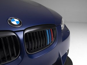 ES#2826968 - BM01-9201///-BK - Blackout Grille Set - Gloss Black Tri-Color - Add style and individuality to your BMW in minutes! - ECS - BMW