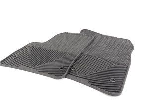ES#2194952 - W46 - Front All-Weather Floor Mats - Black - All-weather protection to endure the harshest conditions - WeatherTech - Volkswagen Porsche