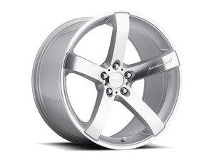 "ES#2972299 - vp58535sKT - 19"" VP5 Wheels - Set of Four - 19""x8.5"" ET35 5x112 - Machined Silver - MRR Design - Audi Volkswagen"
