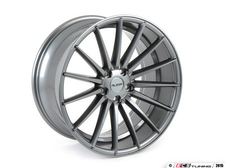 "ES#2823121 - 084-1KT1 - 19"" Style 084 Wheels - Set Of Four - 19""x9.5"" ET40 5x112 - Gunmetal - Alzor - Audi Volkswagen"