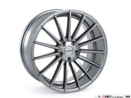 """ES#2823125 - 084-3KT1 - 19"""" Style 084 Wheels - Set Of Four - 19""""x8.5"""" ET35 5x112 - Gunmetal - Alzor - Audi BMW Volkswagen"""