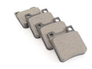 ES#2772151 - 0044209220KT5 - Front & Rear Brake Pad Kit - Featuring Meyle Pads - Assembled By ECS - Mercedes Benz