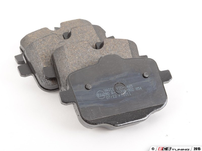 How Often To Replace Brake Pads >> Vaico - 34216862202 - Rear Brake Pad Set