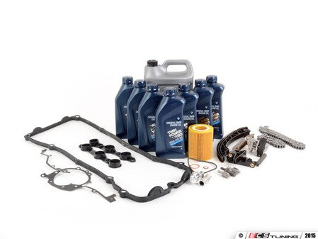 ES#2592864 - 11311432176KT3 - Timing Chain Kit - Everything you need to get the job done, including coolant, oil and filter - Assembled By ECS - BMW