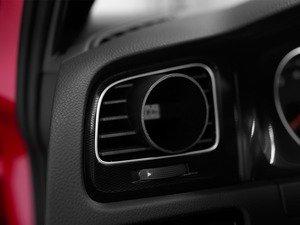"""ES#2931520 - 006472ECS01 - Angled Gauge Vent Pod - Gauge mounting pod to mount any 52mm (2 1/16"""") gauge into your left side air vent - ECS - Volkswagen"""