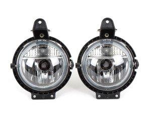 ES#2855964 - 63172751295KT - Front Fog Light With Position Light - Set - Replaces those cracked or damaged fog lights - Genera - MINI