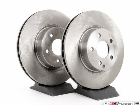 ES#2649939 - 2114210912KT1 - Front Brake Rotors - Pair - Does not include new rotor securing screws - Balo - Mercedes Benz