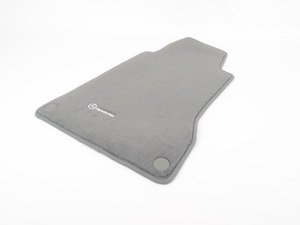 ES#1827830 - Q6680518 - Carpeted Floor Mat Set - Ash - Genuine Mercedes Benz - Mercedes Benz