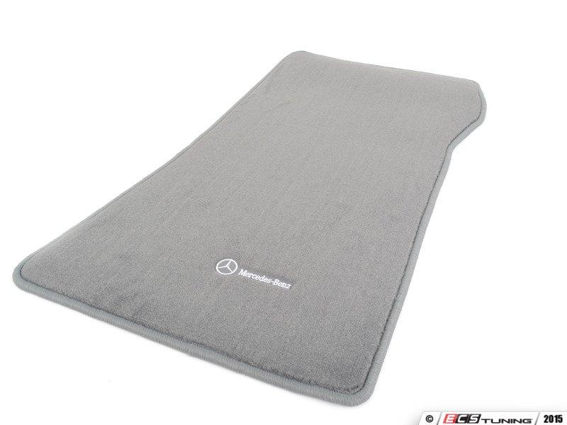 Genuine mercedes benz q6680518 carpeted floor mat set for Mercedes benz floor mats