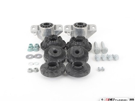 ES#2749274 - 8K0412377CKT3 - Cup Kit/Coilover Installation Kit - Includes all of the necessary hardware to install a cup kit or coilovers - Assembled By ECS - Audi
