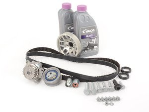 ES#1884417 - 06F198001WPK - Ultimate Plus Timing Belt Kit - Silver Pulley - Same as an Ultimate Timing Belt kit plus our silver ECS Quick Spool Underdrive Pulley - Assembled By ECS - Audi Volkswagen