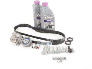 ES#2538517 - 06F198001WAFWH - Ultimate Plus Timing Belt Kit - Includes coolant, all necessary hardware, engine seals and motor mount bolts - Assembled By ECS - Audi Volkswagen