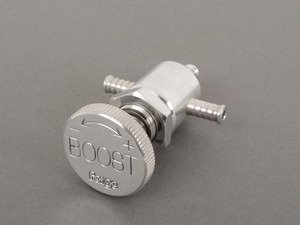 ES#7932 - FMICB051 POLISH - Manual Boost Controller-Polished - In-Car boost controller. Valve only, does not come with hoses or any accessories - Forge - Volkswagen MINI