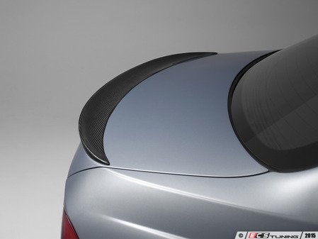 ES#2776788 - 008007ECS03A - Performance Carbon Fiber Rear Spoiler - A high quality mid level carbon fiber lip spoiler. - ECS - BMW