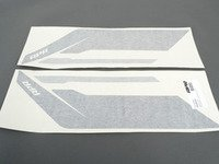 ES#2959984 - PM100334 - APR Sideburn Sticker - Black/Silver - Set of 2 APR side fender decals - APR - Audi Volkswagen