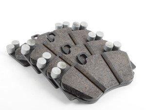 ES#2840831 - 95535193952 - Front Brake Pad Set - OEM pads - Set of four - Genuine Porsche - Audi Porsche
