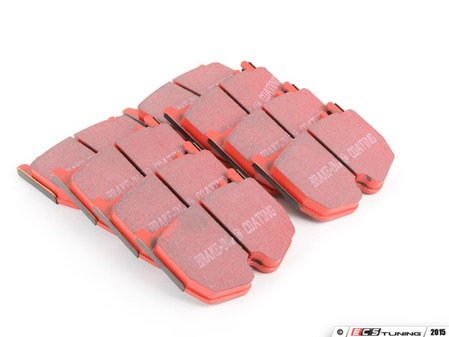 ES#520359 - DP31486C - Front Redstuff Ceramic Performance Brake Pad Set - High performance street pad featuring Kevlar technology - EBC - Mercedes Benz