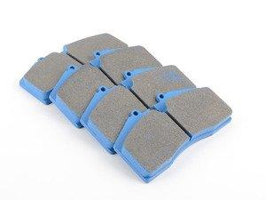 ES#1873646 - HB141E.650 - Blue 9012 Race Brake Pad Set - Best selling brake pad material for SCCA. - Hawk - Audi Porsche