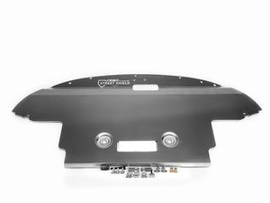 ES#2845866 - 003252ecs02aKT - Street Shield Aluminum Skid Plate Kit  - Protect your vehicle's oil pan and undercarriage components with our heavy duty aluminum skid plate - ECS - Audi