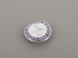 ES#1793684 - 2218170016 - Mercedes-Benz Emblem - Located on the hood of your vehicle - Genuine Mercedes Benz - Mercedes Benz