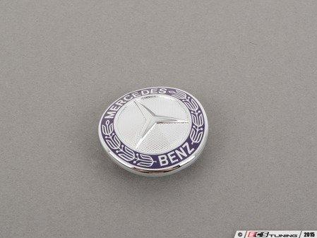 ES#1793684 - 2218170016 - Mercedes-Benz Emblem - Located on the hood of your vehicle - Genuine Mercedes Benz - Mercedes Benz