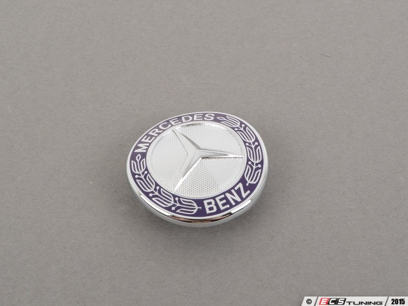 Genuine mercedes benz 2218170016 mercedes benz emblem for Mercedes benz bonnet badge