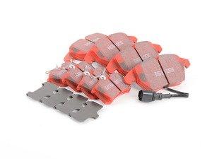 ES#2966663 - DP31517CKT6 - Brake Pad Kit - Front & Rear - High performance street pad featuring Kevlar technology. - EBC - Volkswagen