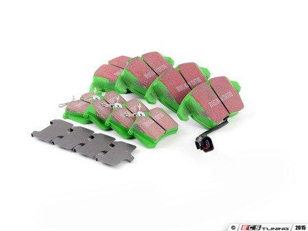 ES#2966661 - DP21517KT2 - Brake Pad Kit - Front & Rear - Mildly upgraded composite pad. - EBC - Volkswagen