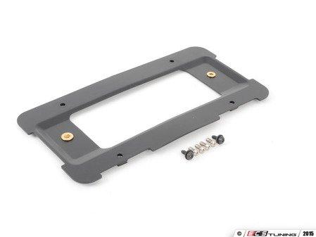 ES#2966780 - 51188238061KT - Rear License Plate Holder Kit - Includes holder and mounting hardware - Assembled By ECS - BMW