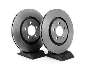 Power Stop EBR482XPR Front Evolution Drilled /& Slotted Rotor Pair