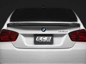 ES#2776785 - 008007ECS01A - M-Tech style Carbon Fiber Rear Spoiler - Add a touch of class and style with this M-tech style carbon fiber spoiler. - ECS - BMW