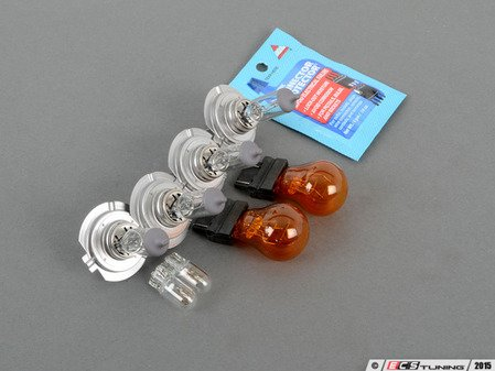 ES#2966414 - B5PSTHDLHTBLBKT1 - Headlight Bulb Refresh Kit - Replace all of the bulbs in your headlights - Assembled By ECS - Volkswagen
