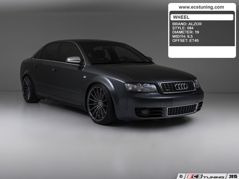 ecs news alzor style 084 wheels for your audi b6 s4. Black Bedroom Furniture Sets. Home Design Ideas