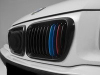 ES#2826966 - BM01-3602///-BK - Blackout Grille Set - Gloss Black Tri-Color - Add style and individuality to your BMW in minutes! - ECS - BMW