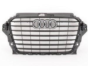 ES#2726072 - 8V5853651BCKA - Grille Assembly - matte black - Clean up or change your look - Genuine Volkswagen Audi - Audi