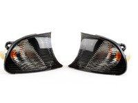 ES#2808243 - 4441512PAES - Smoked Corner Assembly - Pair - Direct replacements for the stock amber corner lights - Depo - BMW