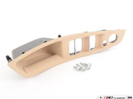 ES#2584294 - 51417225867 - Beige Front Door Handle Trim - Left - Replace your worn door trim - Genuine BMW - BMW