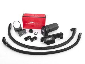 ES#2966735 - 010371ecs01KT -  Performance Baffled Oil Catch Can System - Keep your intake tract clean and carbon free - ECS - Audi
