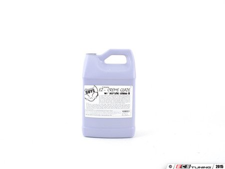 ES#2619246 - GAP111 - Extreme Shine EZ Creme Glaze - Gallon - Features a special formula that helps fill in ultra fine swirls so they are not visible to the naked eye, also smells like grapes - Chemical Guys - Audi BMW Volkswagen Mercedes Benz MINI Porsche